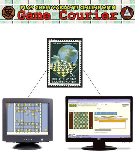 Play Chess Variants Online with Game Courier